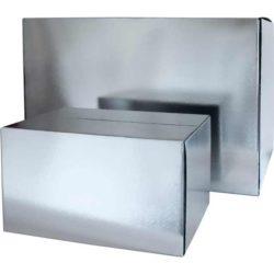 Koeldoos 300x200x200mm, Zilver