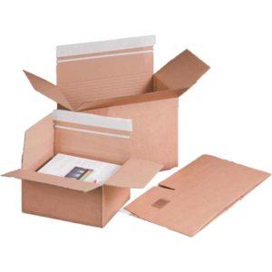Postpakketdoos, 304x216x130-220mm