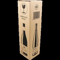 Wijnverzenddoos 1 Fles, 380mm